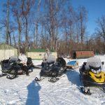 Kamchatka Snow mobile