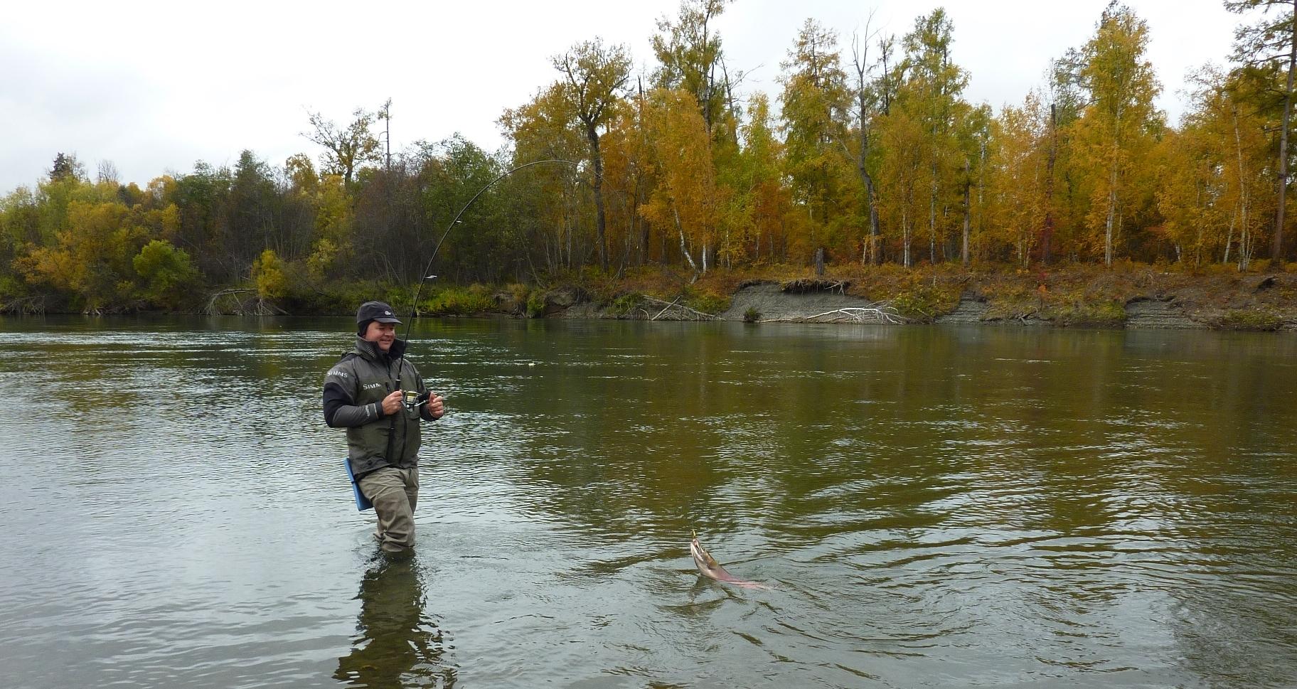 Kamchatka fishing