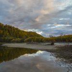 Kamtschatka Fluss. Angeln